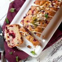 cranberry orangen kuchen glasur