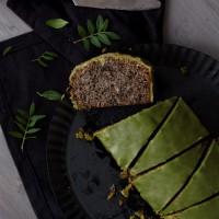 Schwarzer Sesam Kuchen Loaf