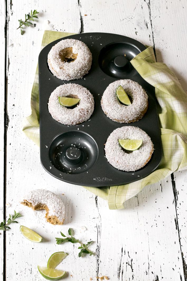 wilton donutform kokos donuts
