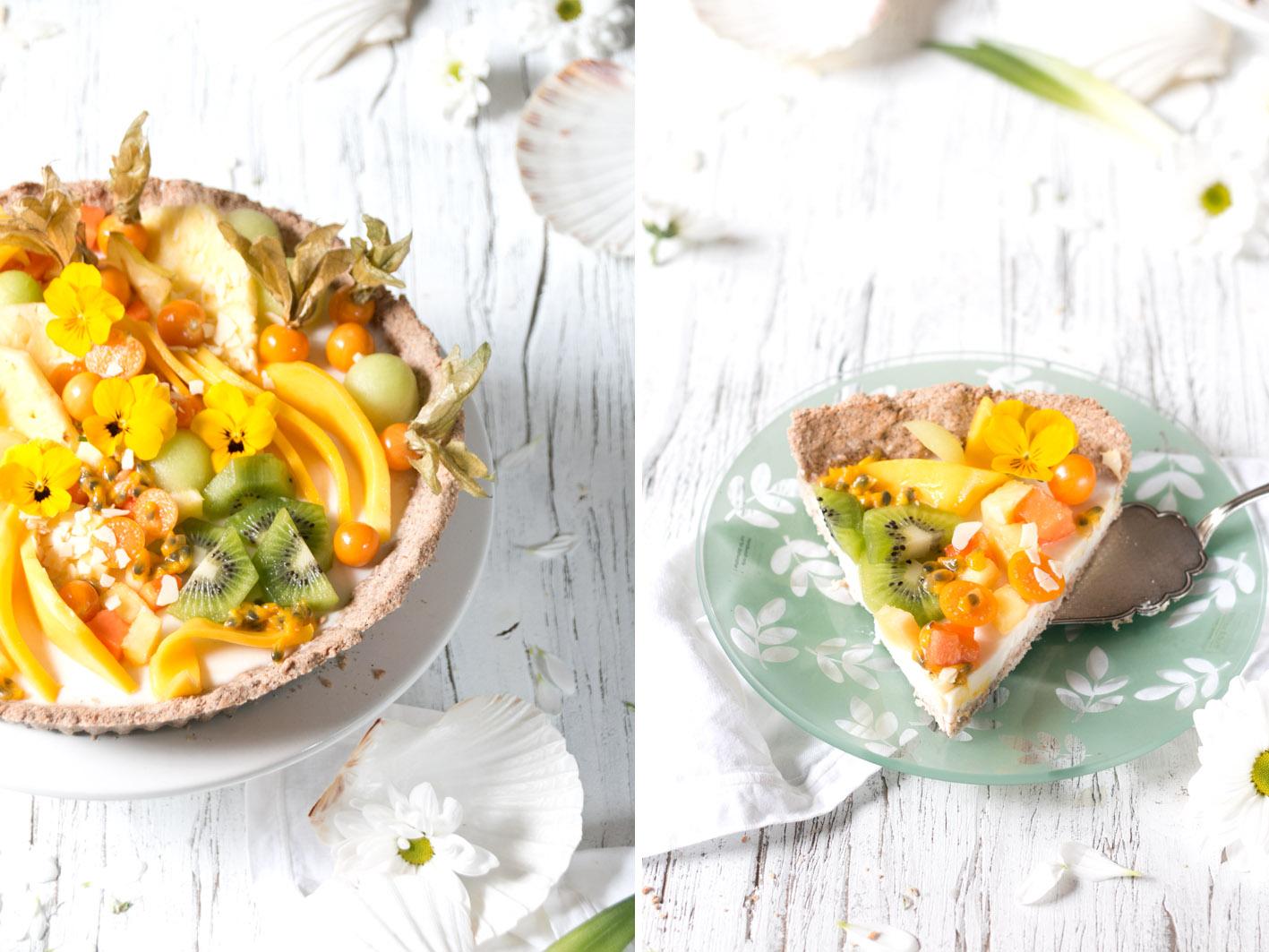 Mango Kokos Tarte