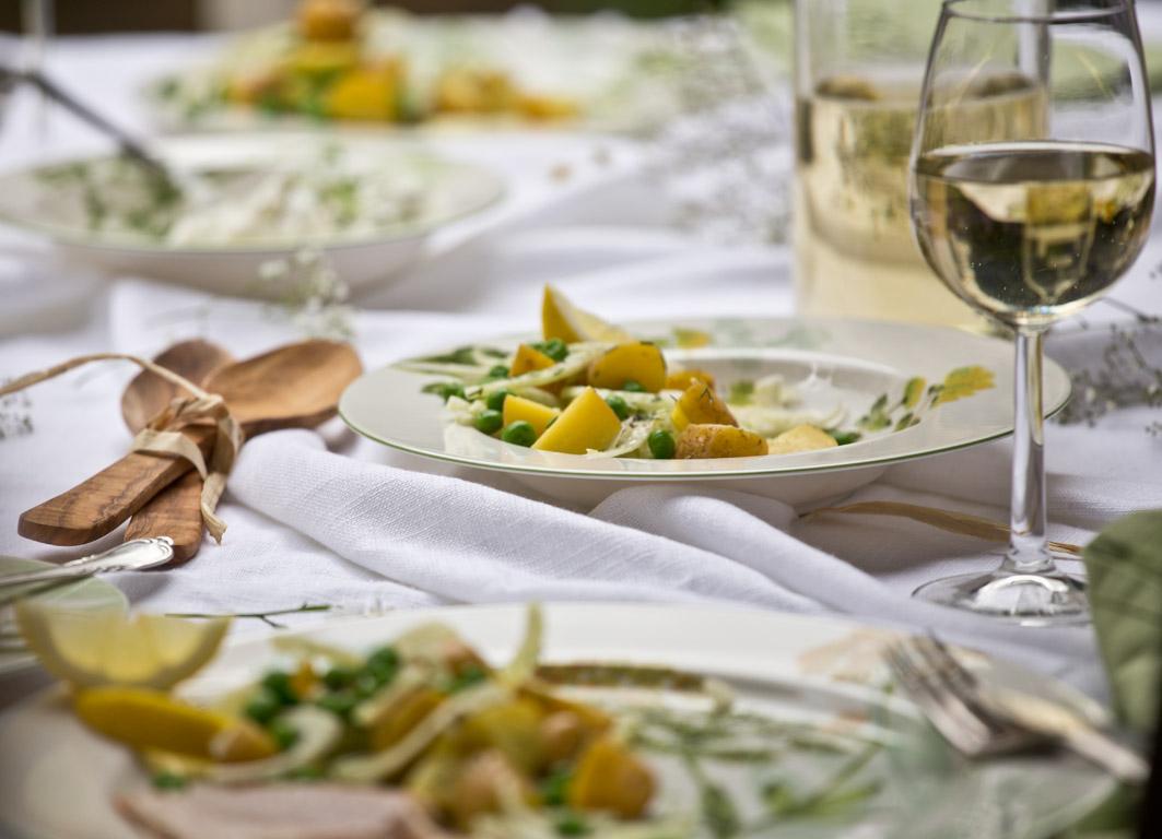 schwedischer kartoffelsalat weißwein