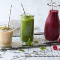 drei gesunde smoothies
