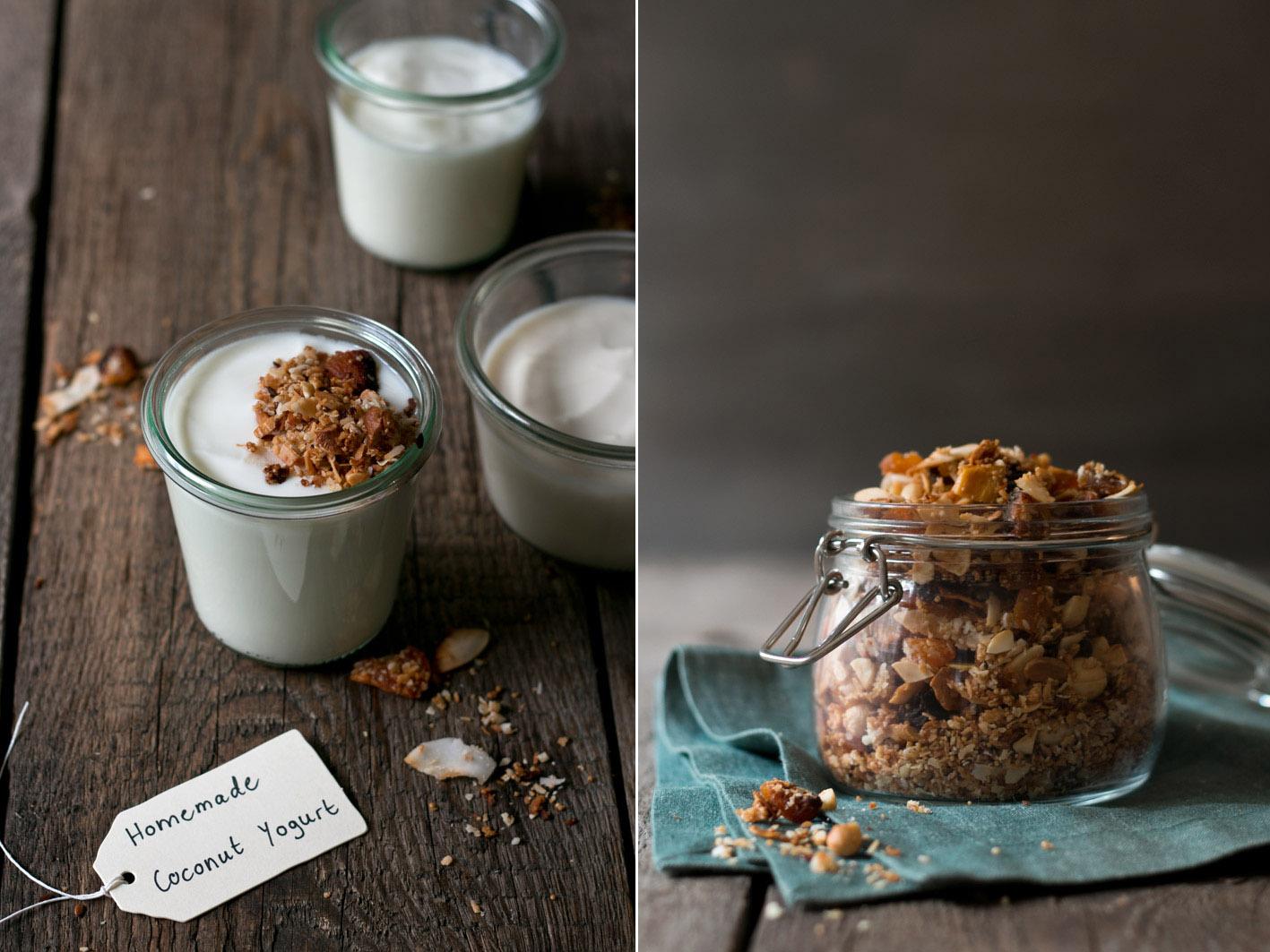 coconut yogurt granola