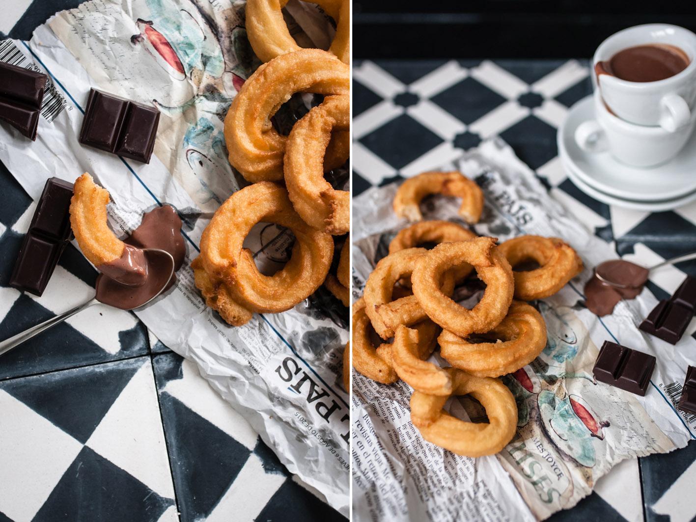 urlaubserinnerungen churros con chocolate foodlovin 39. Black Bedroom Furniture Sets. Home Design Ideas