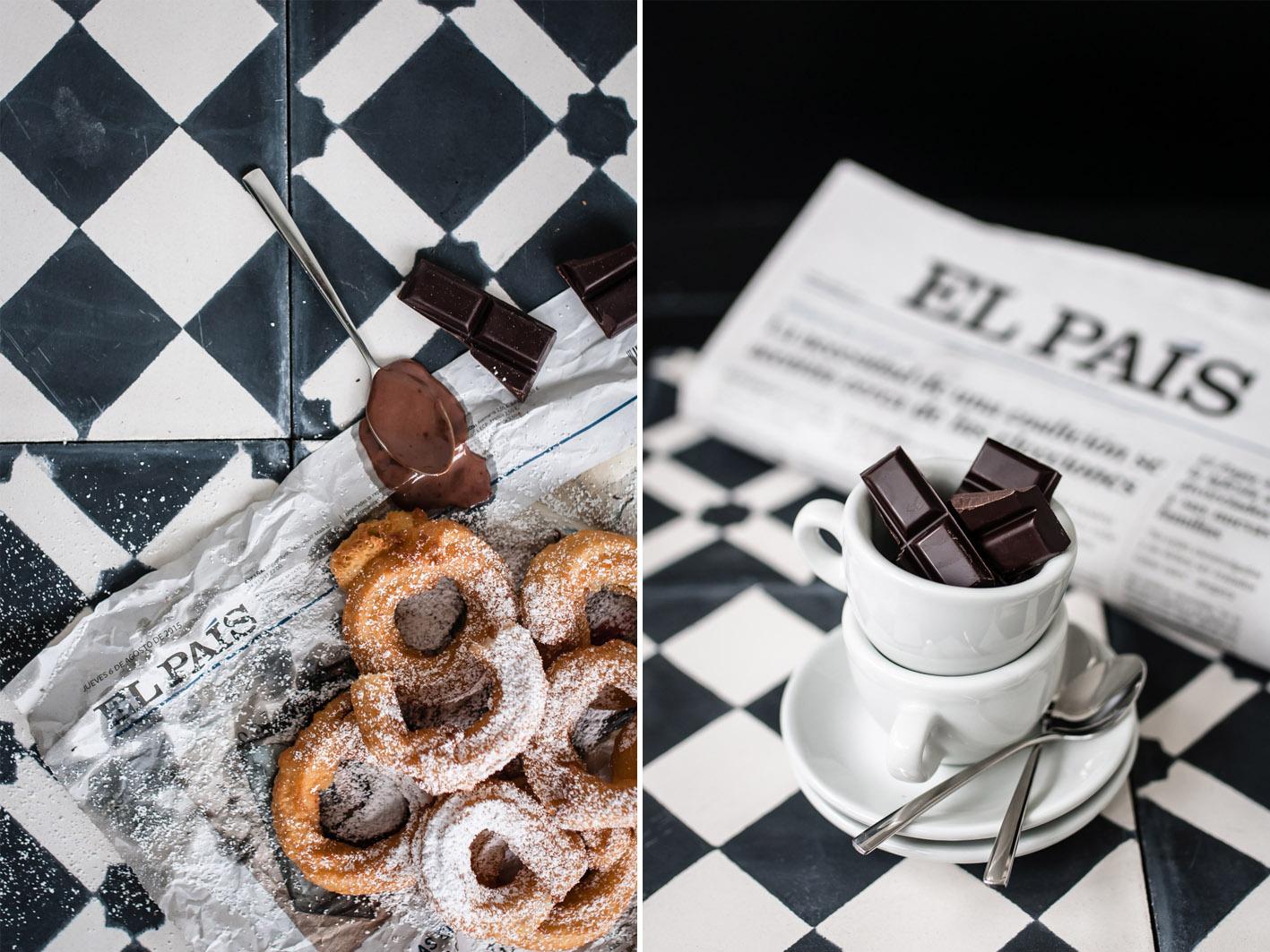 churros schokoladensauce