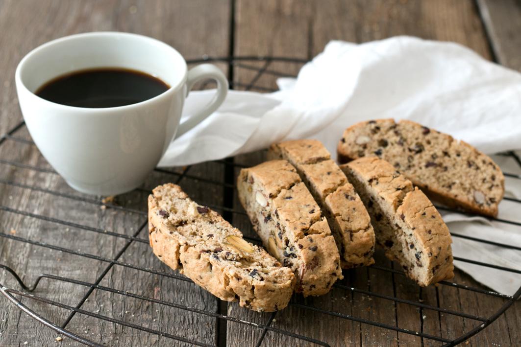 glutenfreie biscotti mandeln