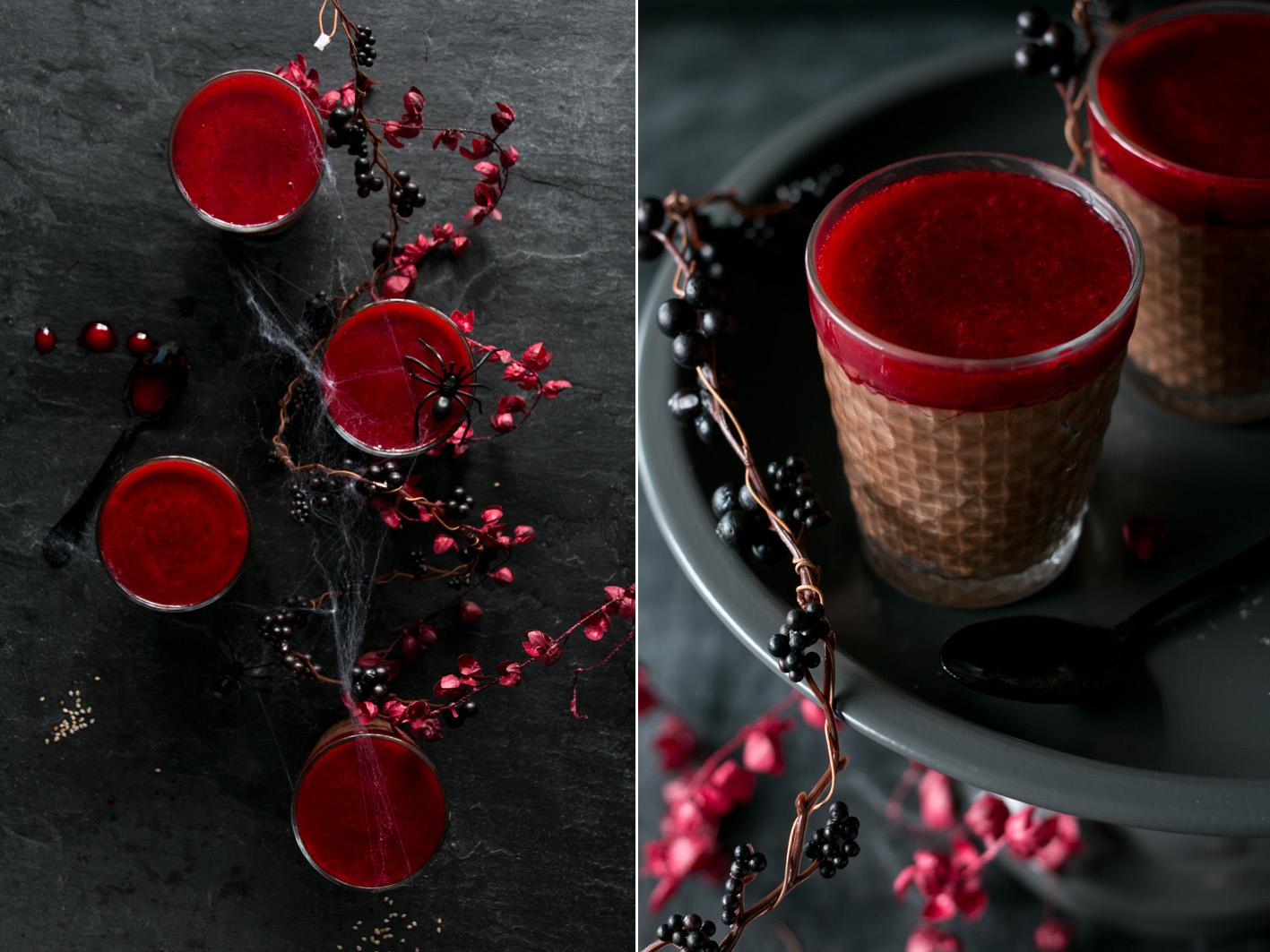 mousse au chocolat himbeeren