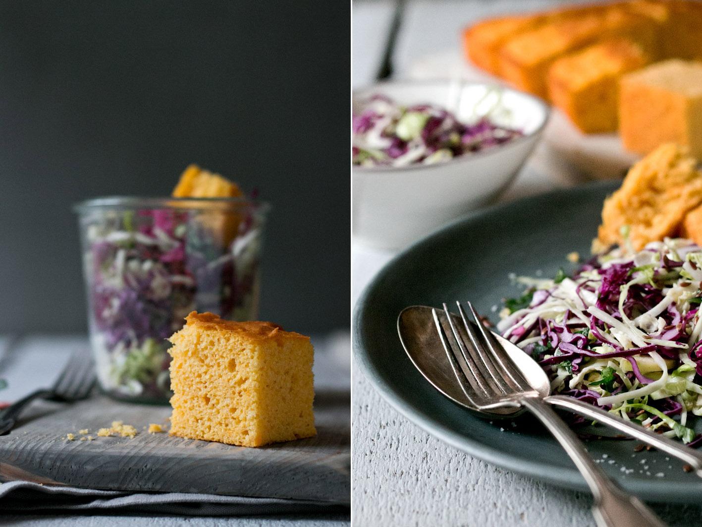 krautsalat maisbrot