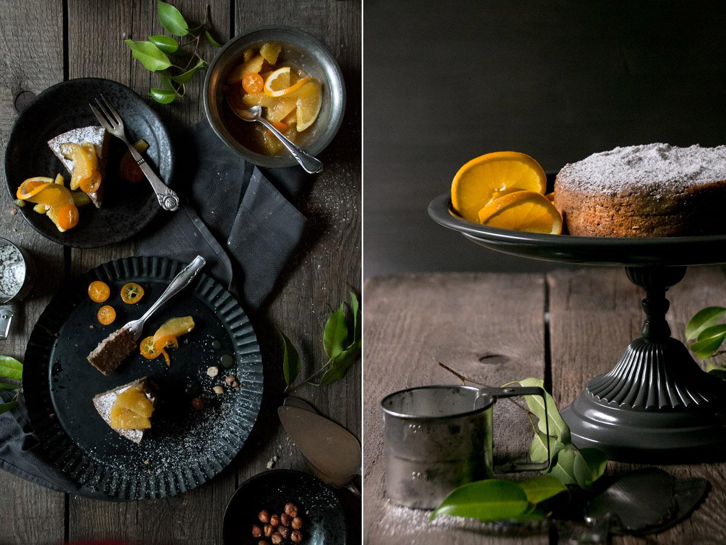 maronen orangen kuchen