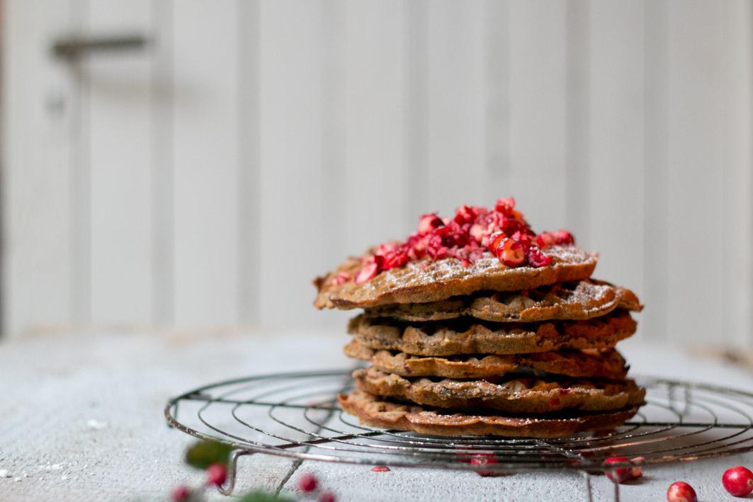 cranberry-waffeln
