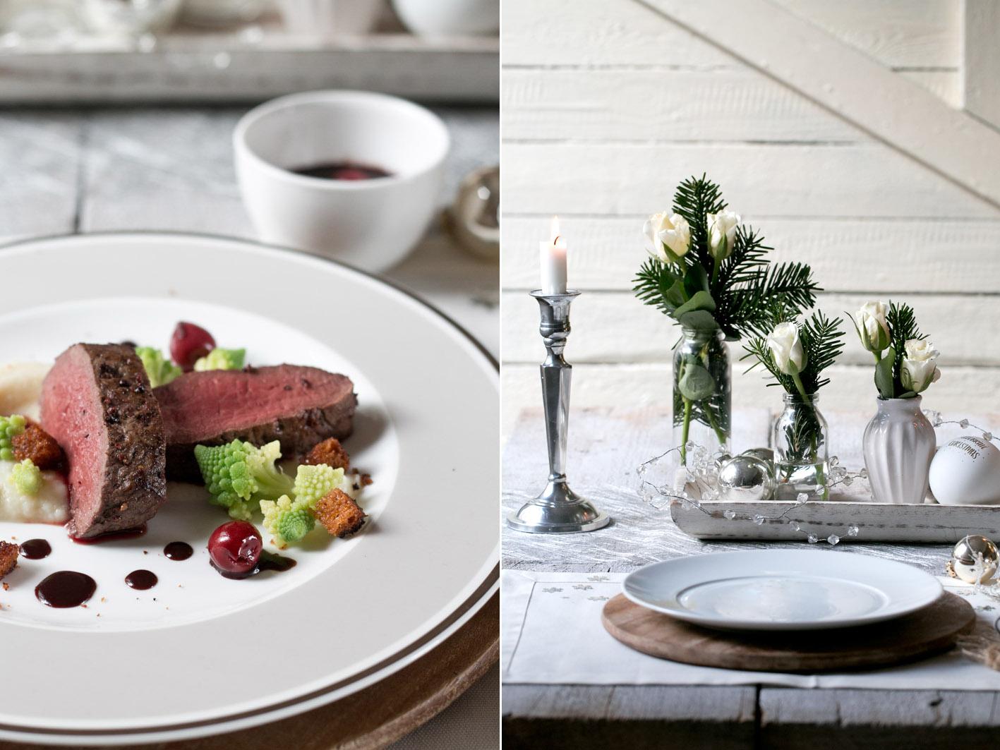 hirschr cken mit schoko kirsch sauce foodlovin 39. Black Bedroom Furniture Sets. Home Design Ideas