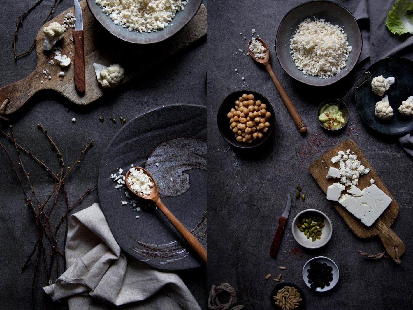 couscous aus blumenkohl