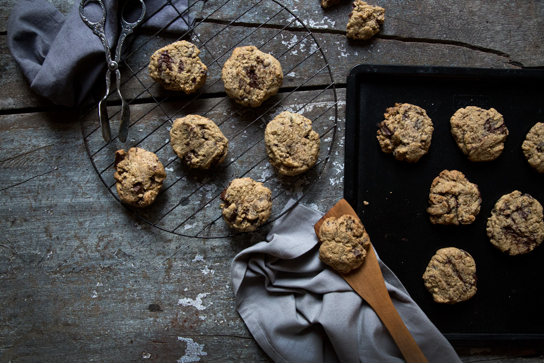 chocolate chip cookies backen