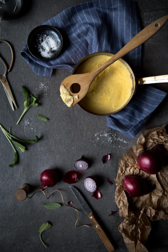 cremige polenta zubereiten