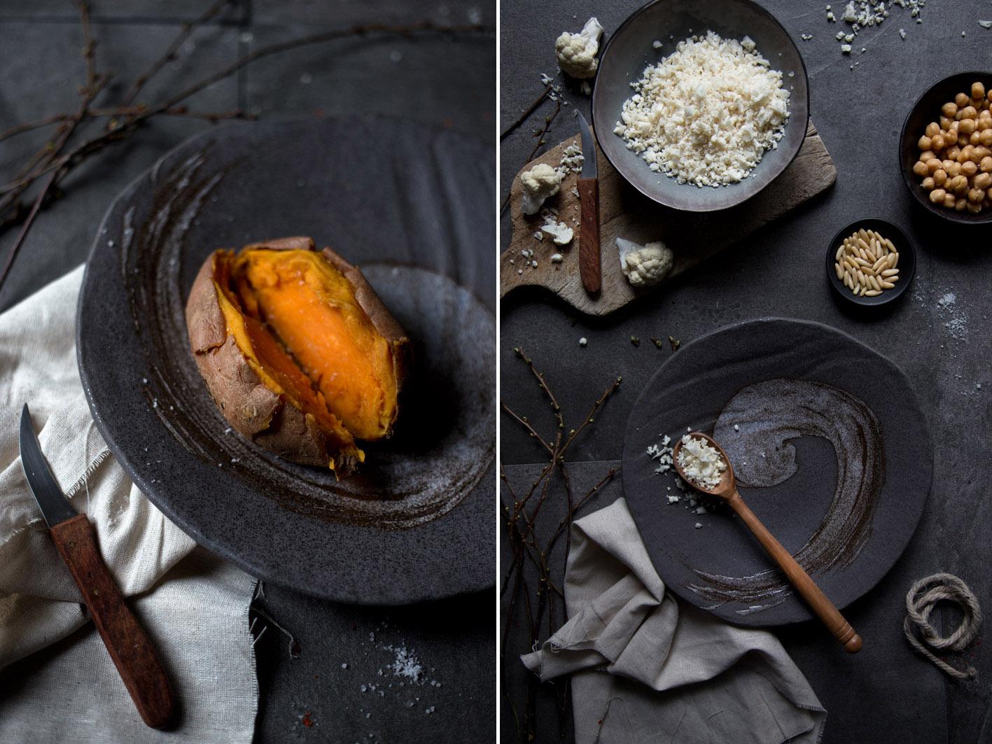 gefuellte suesskartoffel