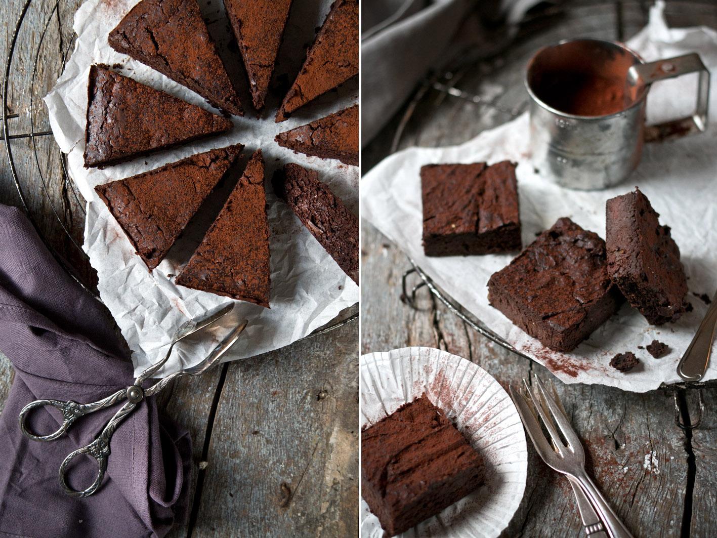 gesunde brownies mit kidneybohnen