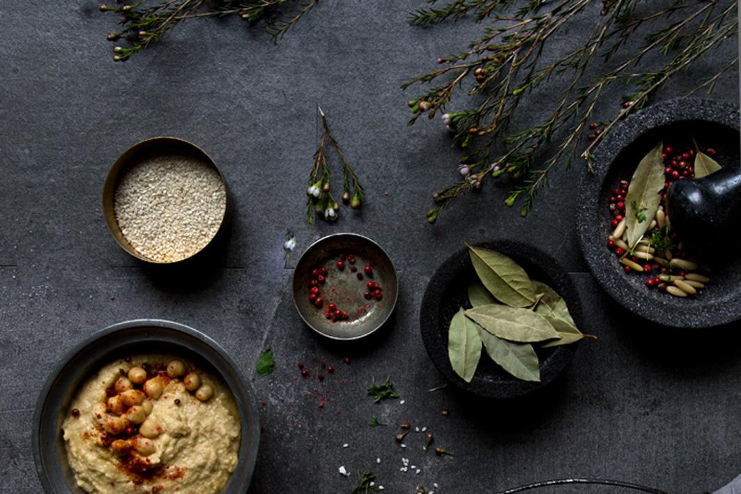 gewürze für hummus