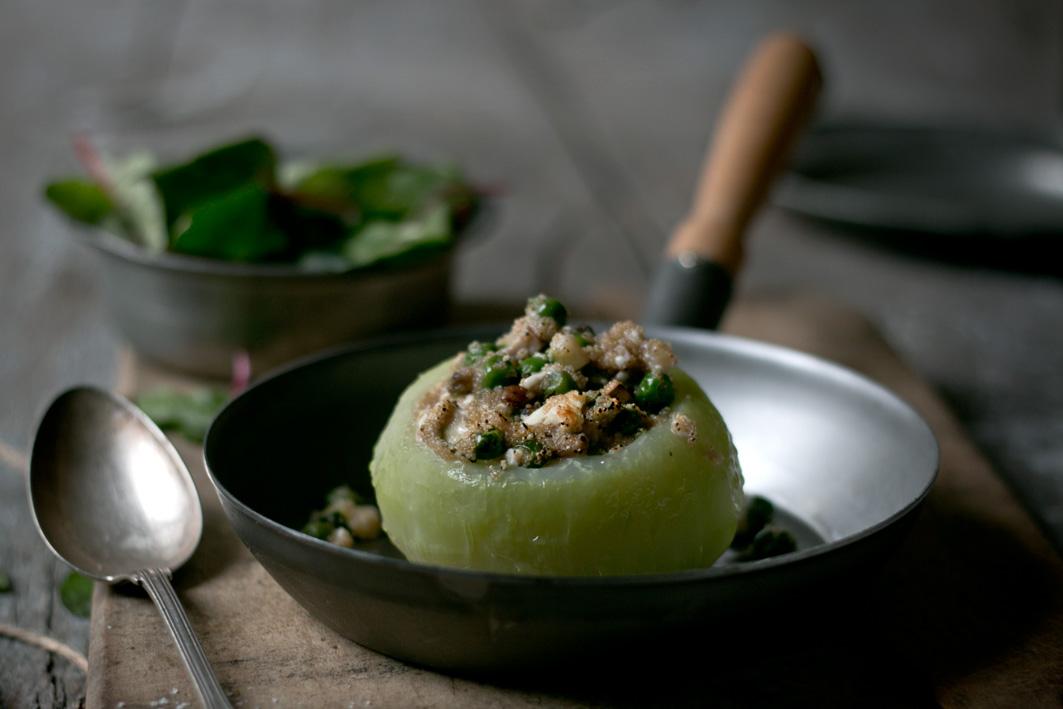 Rezept für Kohlrabi mit amaranth