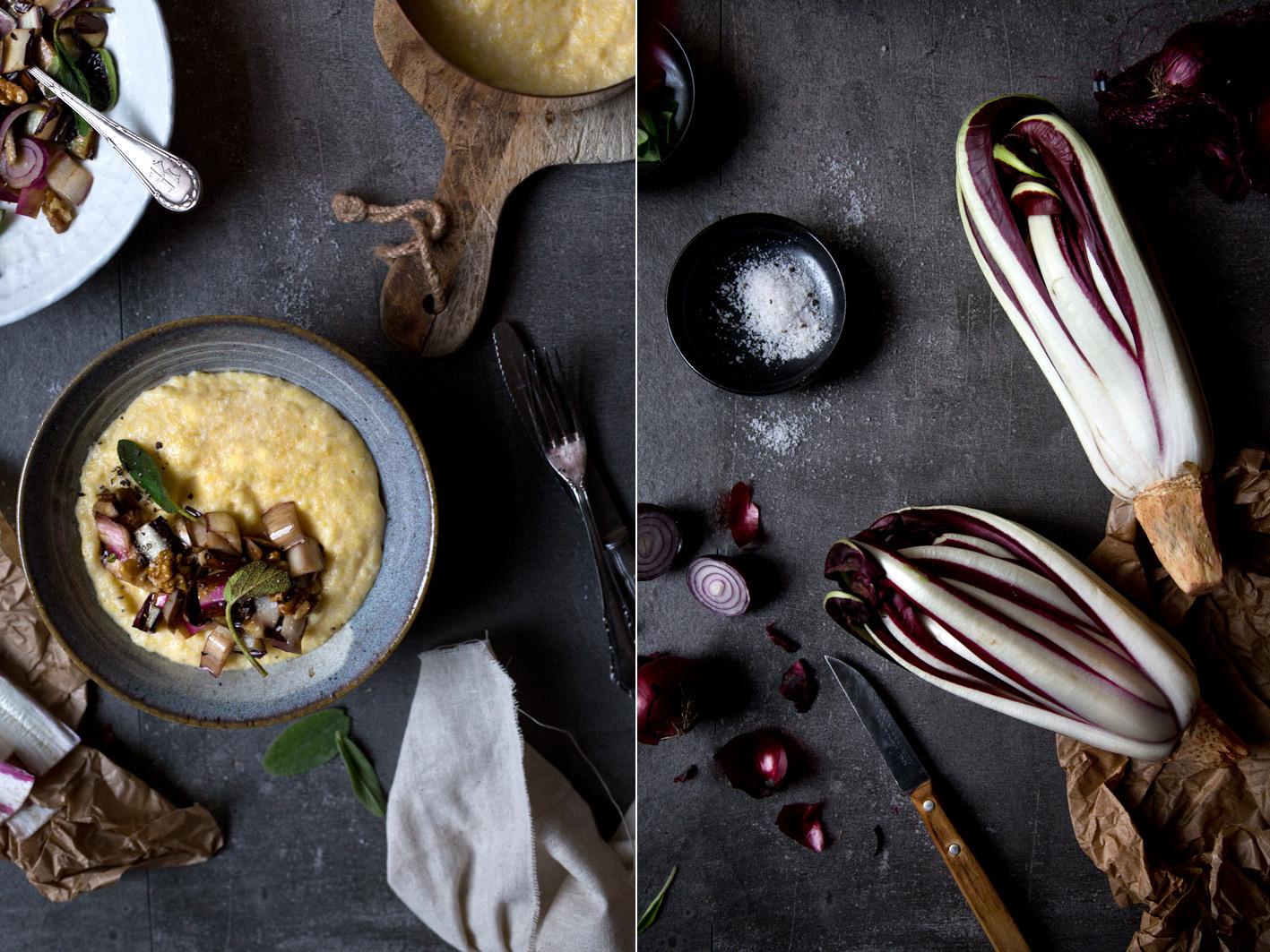 polenta mit radicchio