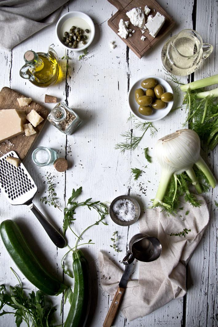 zutaten für zucchini nudeln