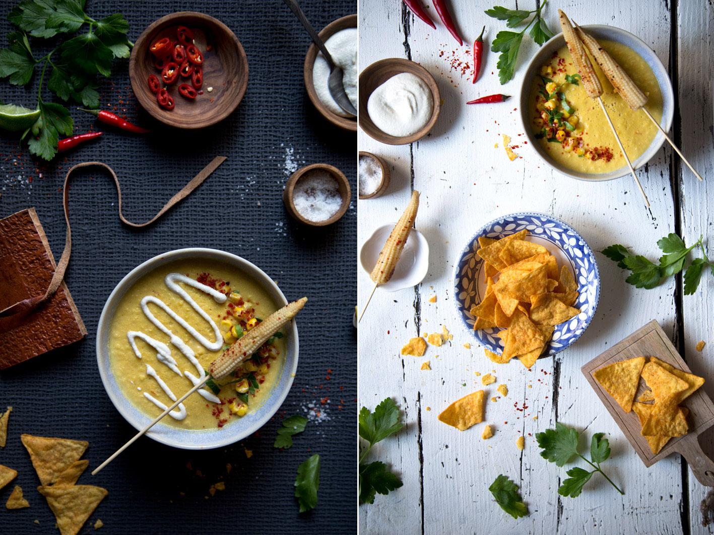 maissuppe mexikanisch