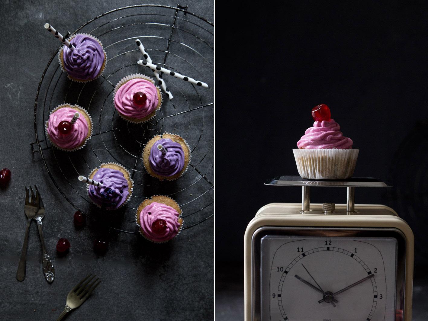 cupcakes mit Kokoscreme