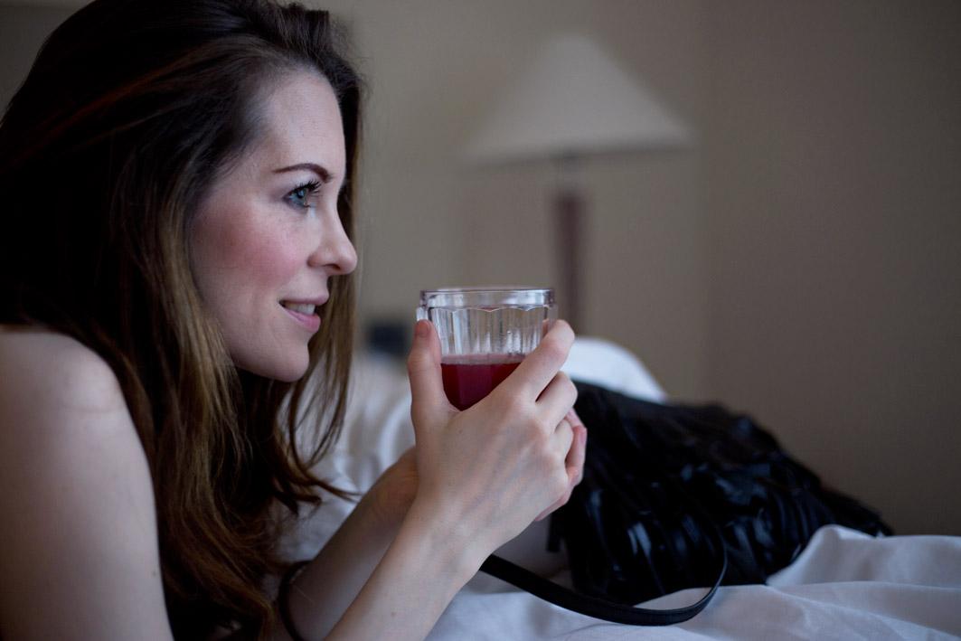 denise von foodlovin mit drink
