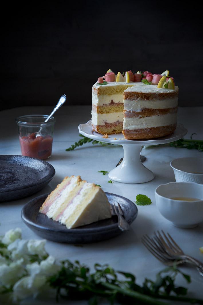 Rhabarber zitronen kuchen