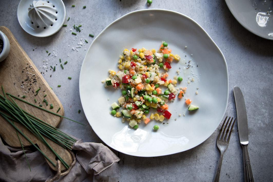 gemuese quinoa salat