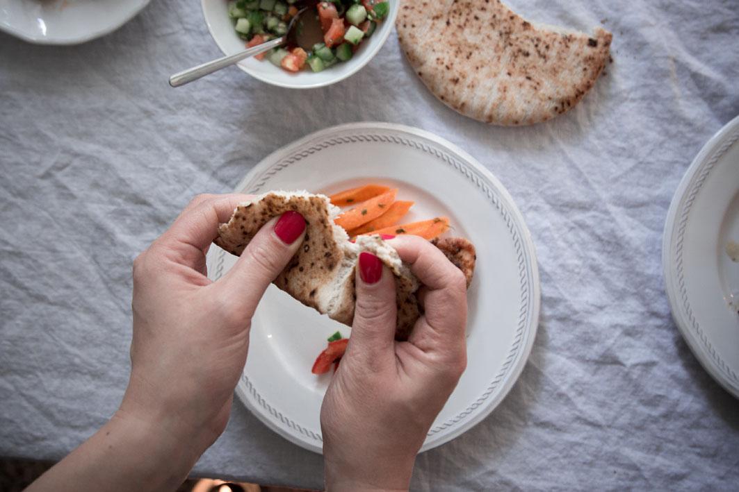 israelisches brot essen