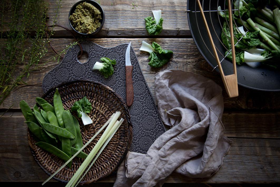 rezept für gruenes curry