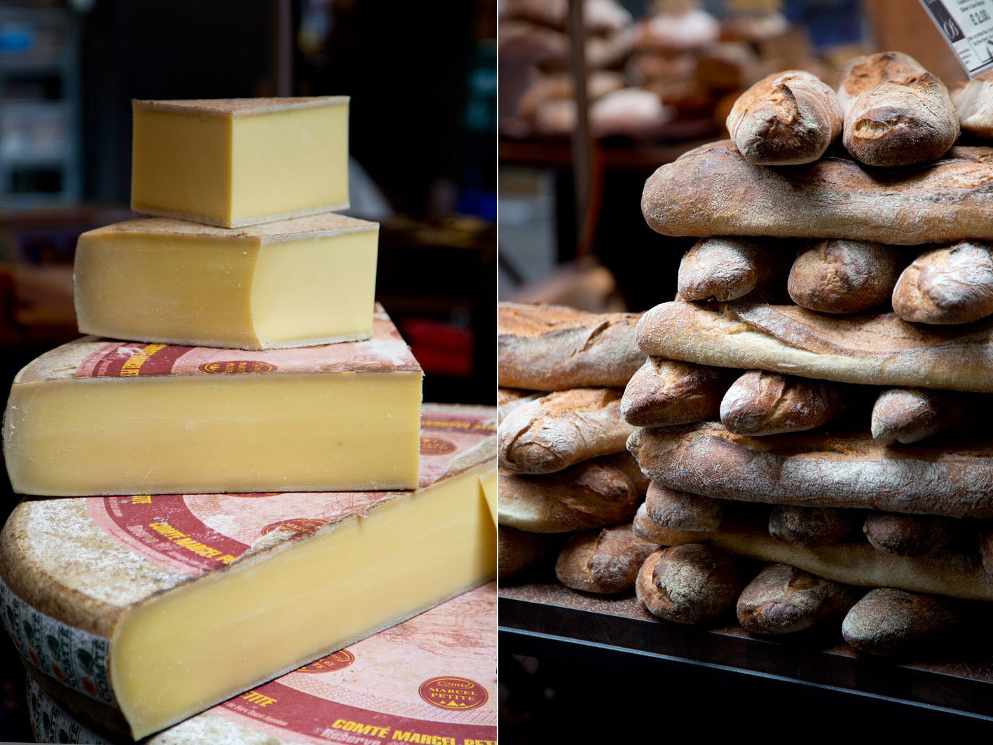 brot und käse in london