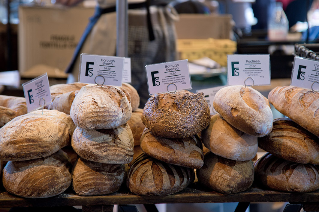 brot vom markt in london
