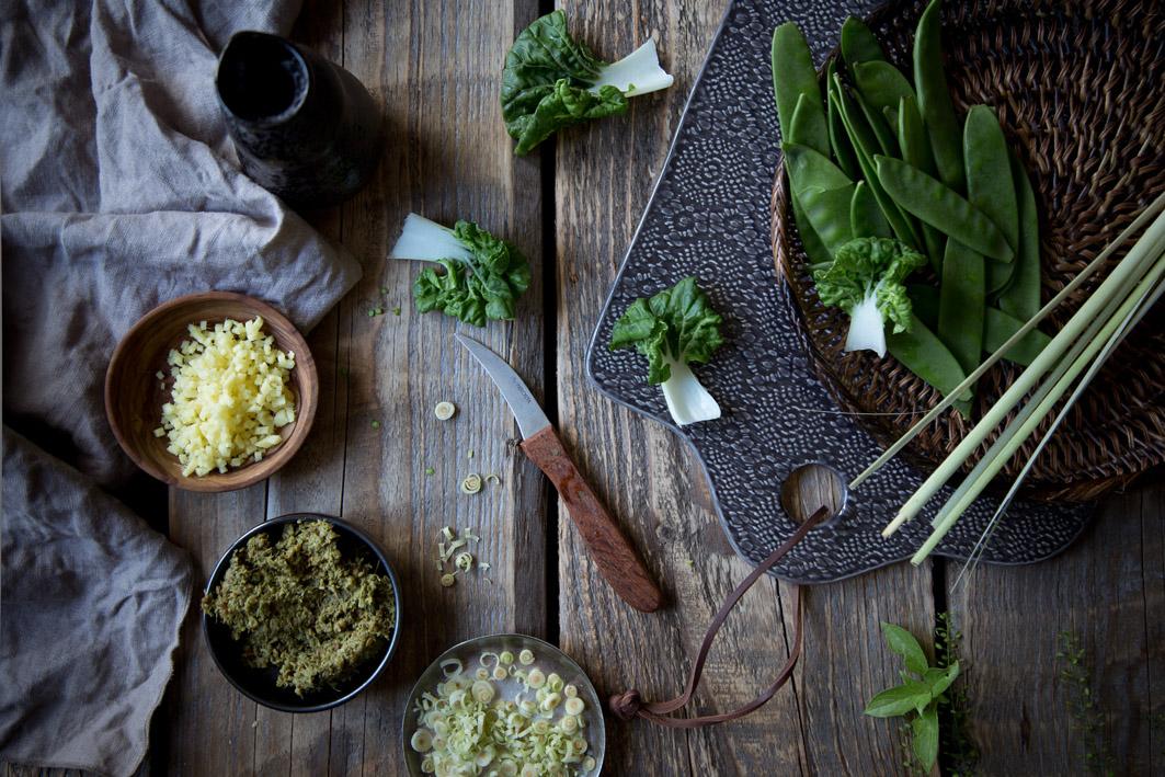 zutaten grünes thai curry