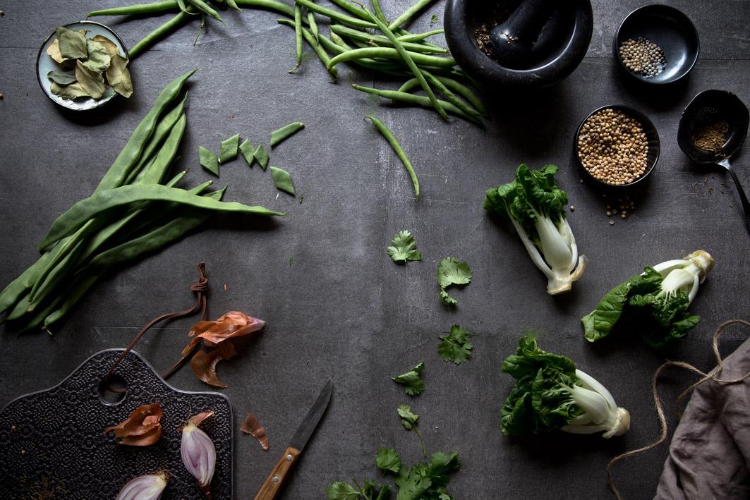 zutaten grüne currypaste