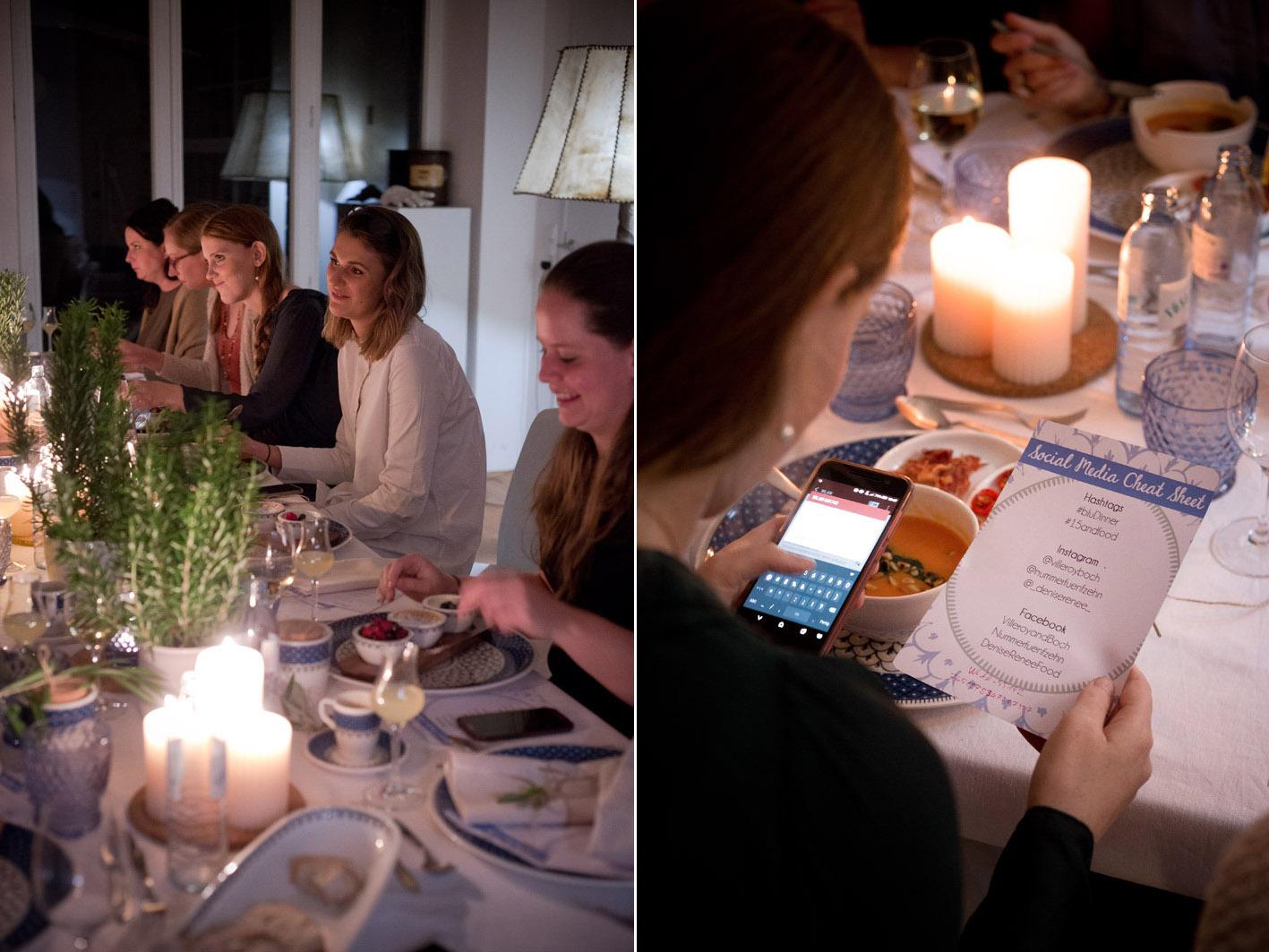 bludinner blogger dinner