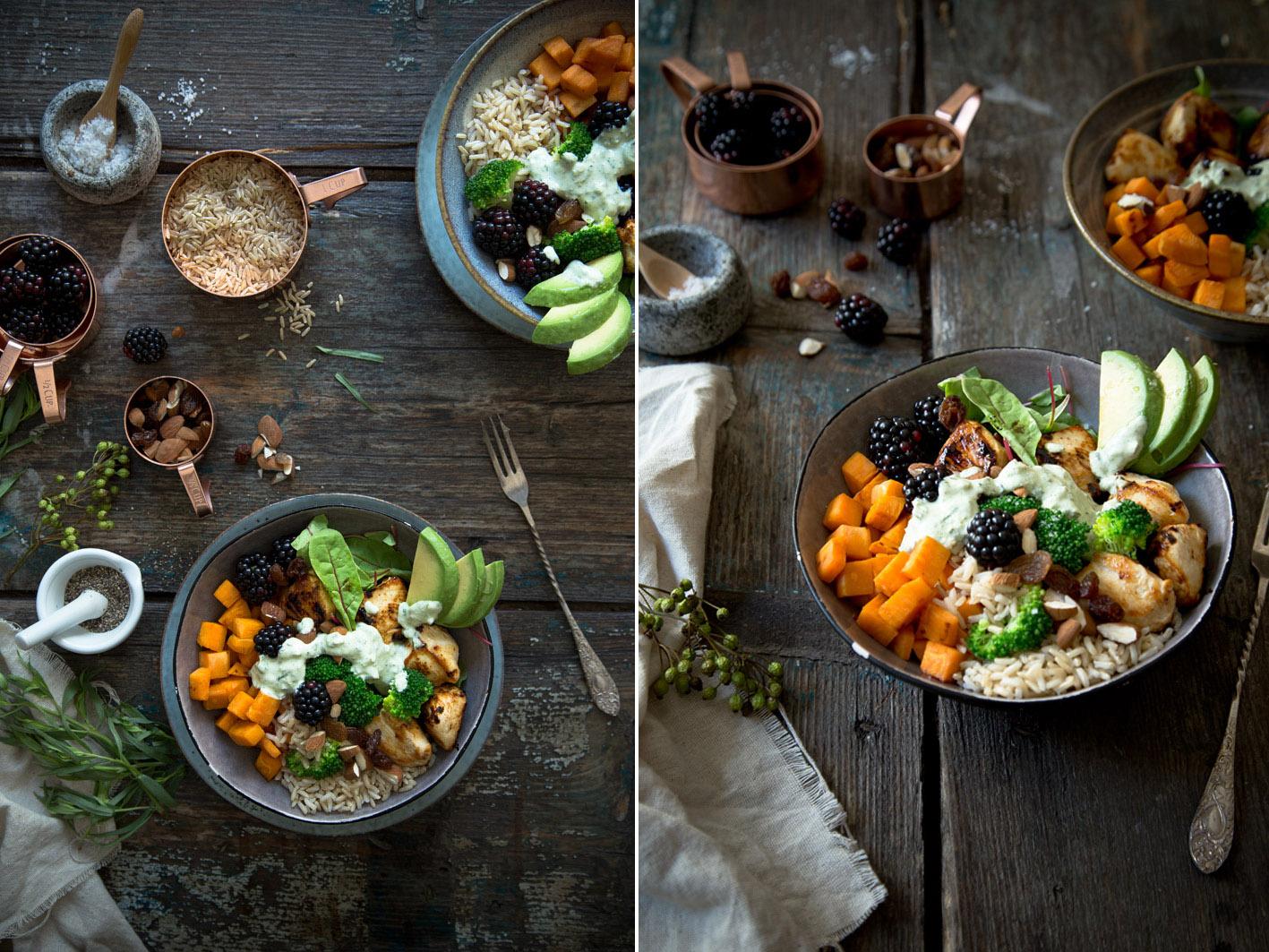 mittagessen superfood bowl