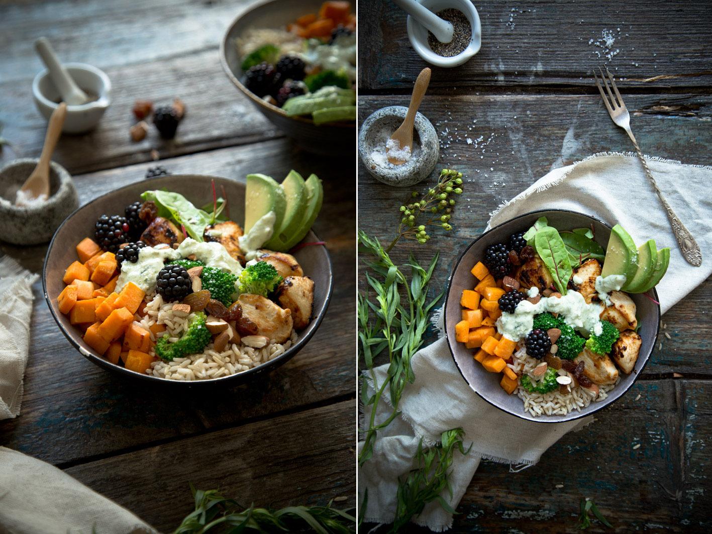 rezept für gesunde superfood bowl