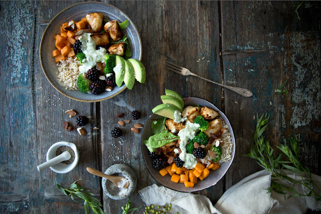 superfood salat bowl clean eating