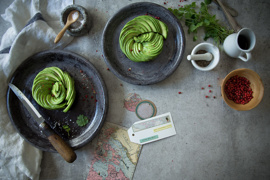 anleitung für avocado rosen