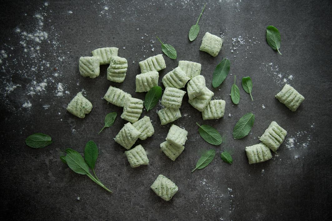 Salbei gnocchi selbst gemacht