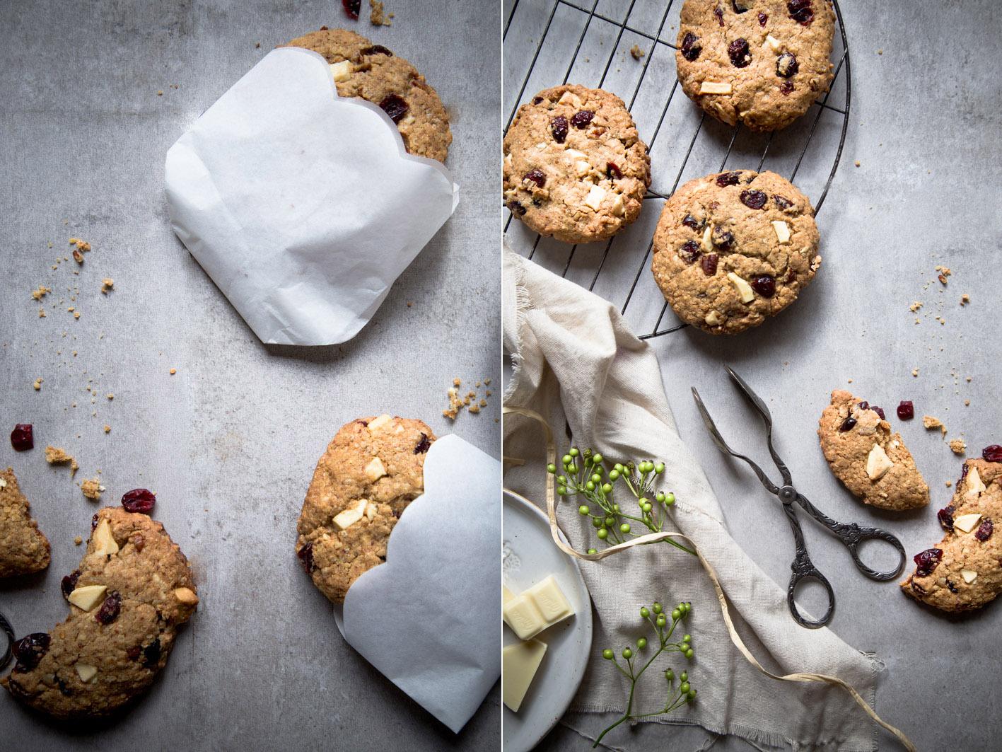 weiße schoko cookies
