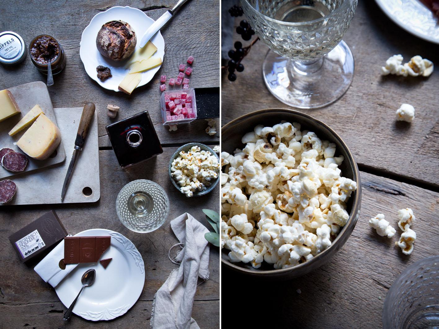 gegessen wird immer popcorn