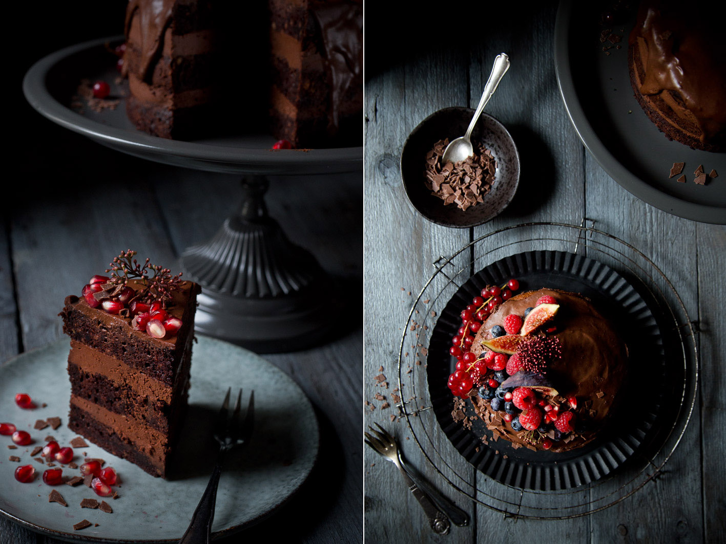 stueck schokoladencreme torte