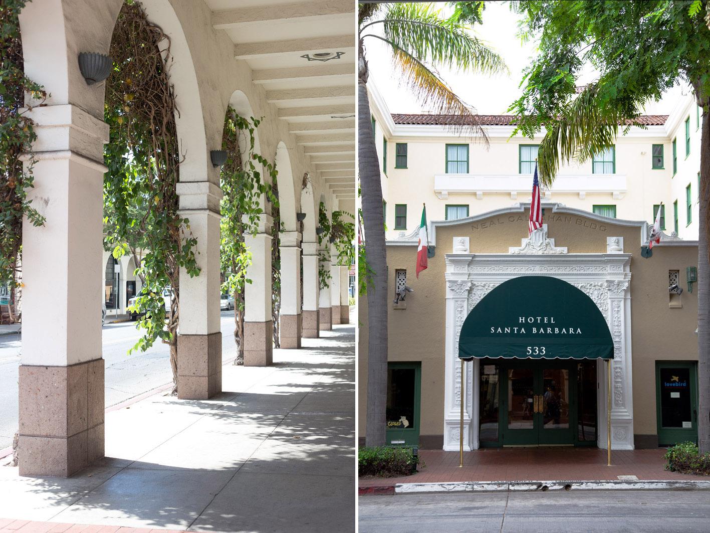the hotel santa barbara