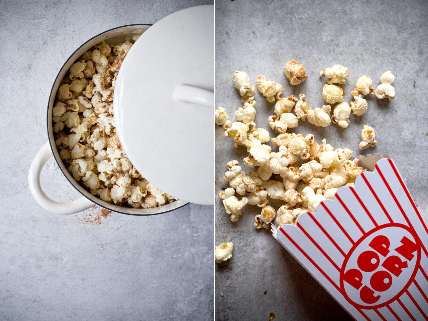 rezept für selbst gemachtes popcorn