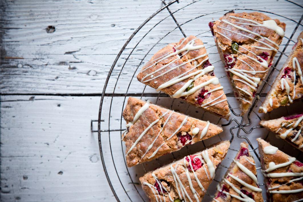 cranberry pistazien scones