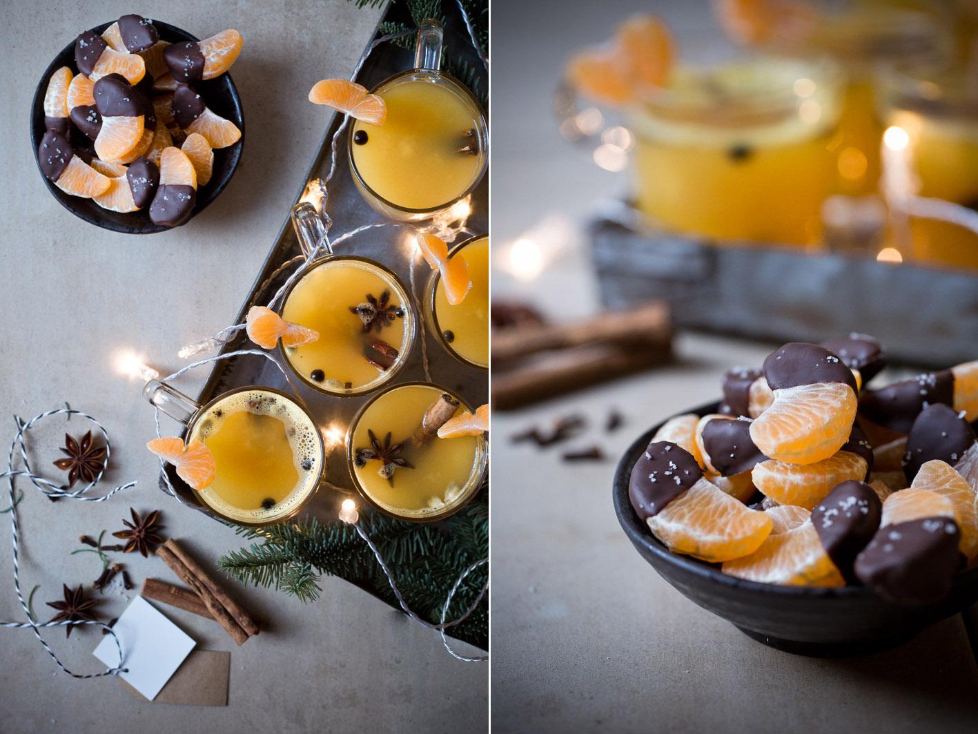 gluehwein mandarinen