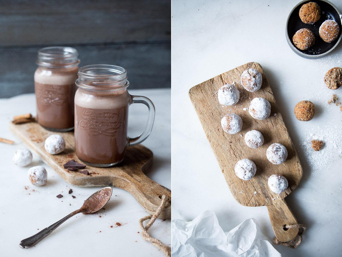 plätzchen und kakao