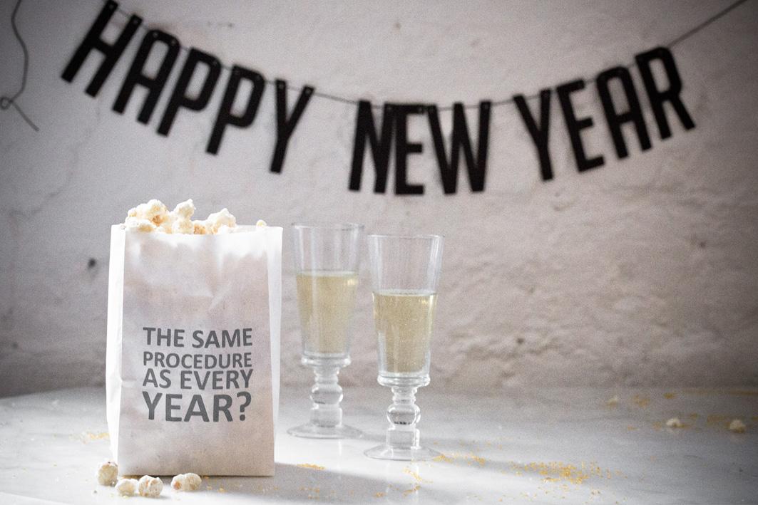 popcorn und champagner